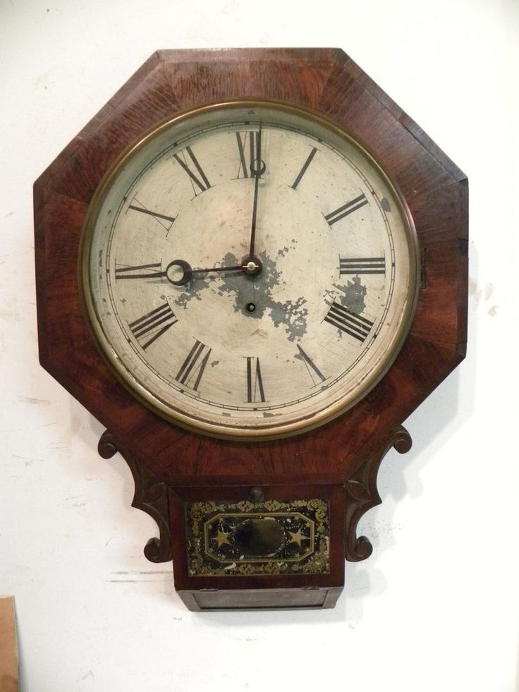229 Best Waterbury Drop Octagon Clock Images On Pinterest
