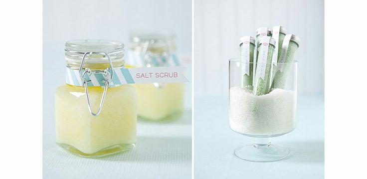 9 recipes for homemade salt scrub!  Alexandra Grey