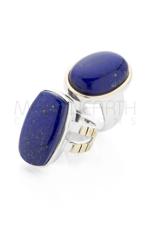 Lapis Lazuli, from Afghanistan. Famous for it's vivid blue and plethora of uses. Both Cleopatra and Da Vinci were fans!