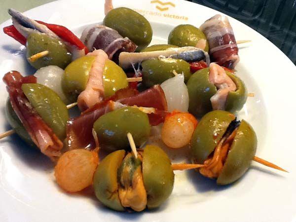 Banderillas de aceitunas rellenas -Recetas fáciles, cocina andaluza y del mundo. » Divina Cocina