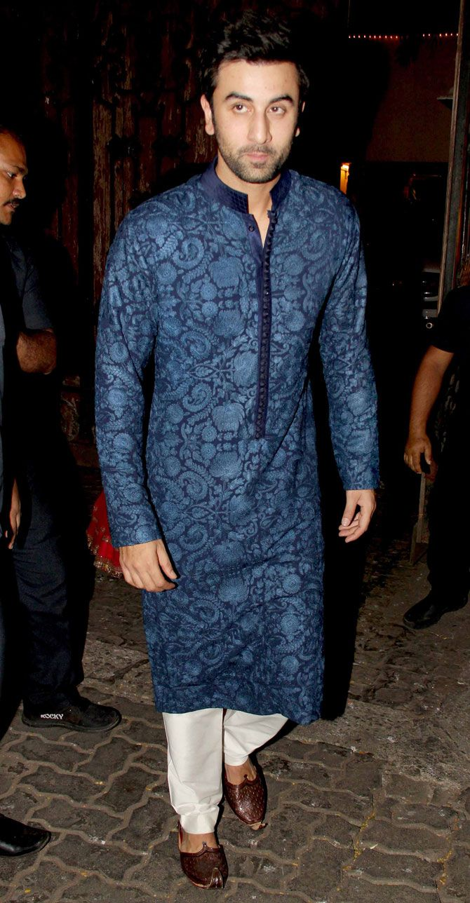 Ranbir Kapoor : Photos: Salman, Ranbir, Katrina, other celebs at Anil Kapoor's Diwali bash