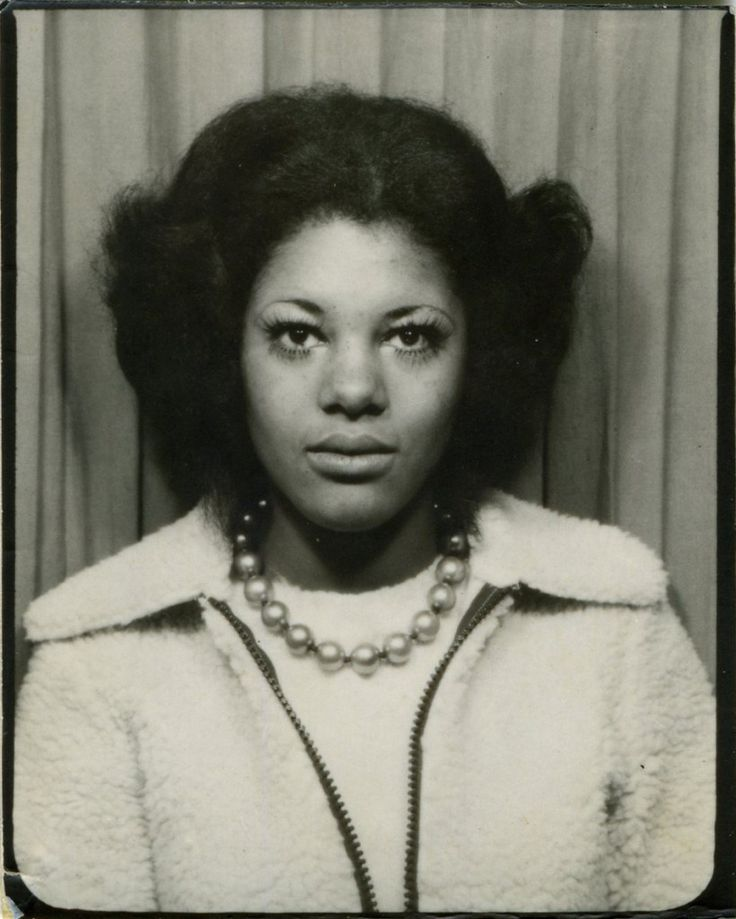 the black women photobooth series 1940s60s the faces