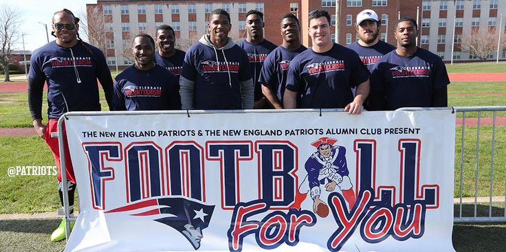 For the second April in a row,New England Patriots players and alumni will visit the Naval War College in Newport, RI.    Naval Station Newport'sMorale, Welfare and Recreation (MWR) Department will host aNew England Patriots Play 60