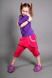 Electric Kids Magenta - Et par ultratjekkede bukser til aktive børn.
