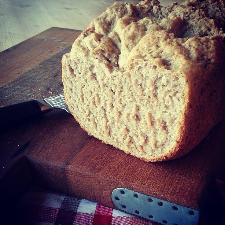 #Homemade #rye #buckwheat #bread yummy!