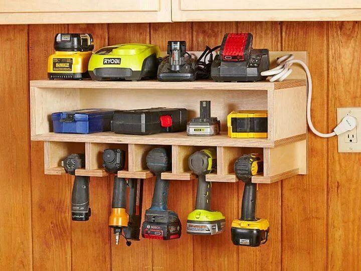 16 Brilliant DIY Garage Organization Ideas                                                                                                                                                                                 More