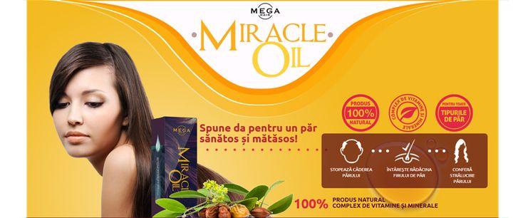 Miracle Oil – formulă naturală pentru refacerea completă a părului deteriorat de la rădăcini la vârfuri
