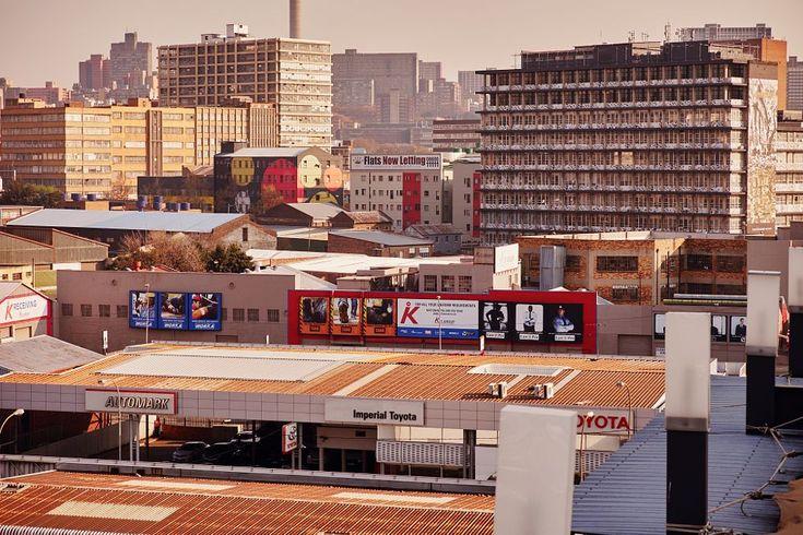 Roof top Johannesburg - Maboneng Precinct  by Amartephoto