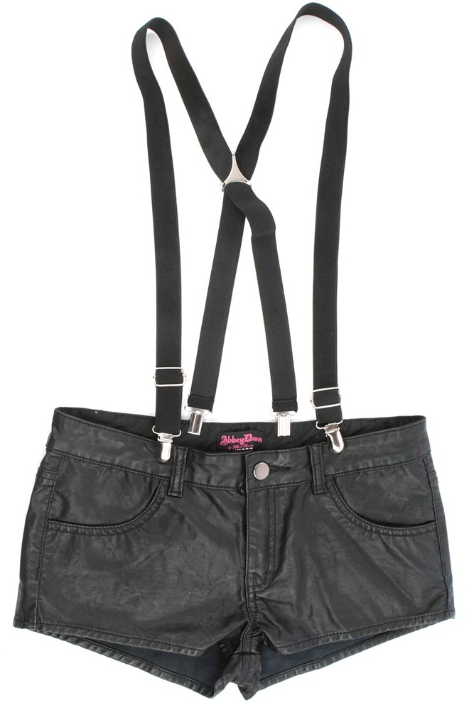 I have these babies... now all I need is the body to pull them off - Abbey Dawn Trouble Women's Shorts