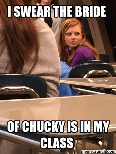 The Bride of Chucky is real!