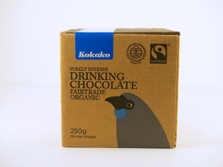 HOT CHOCOLATE - Kokako 100% Fairtrade Commitment - coffee Find a foodstore More info: www.kokako.co.nz