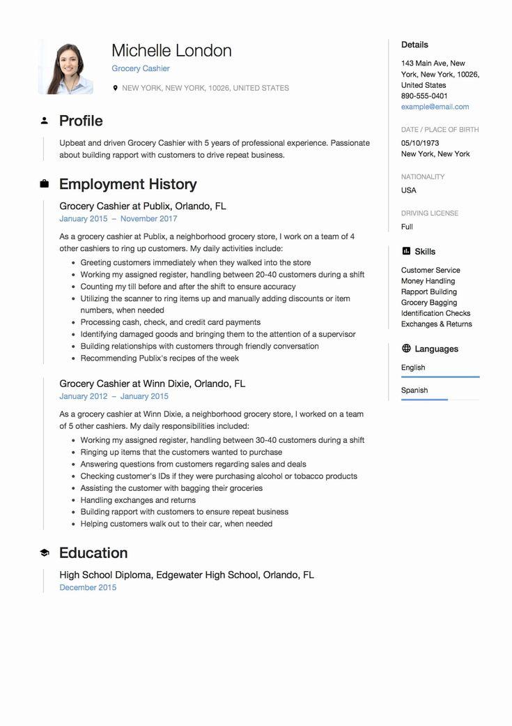 20 grocery store clerk resume customer service resume