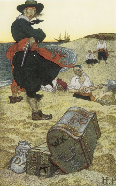 pirate by howard pyle