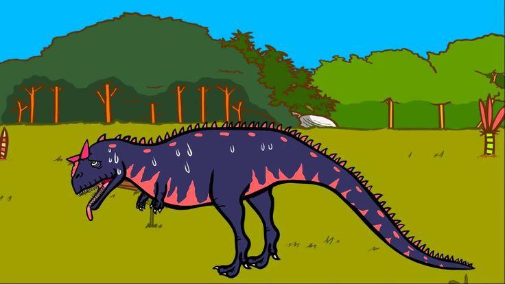 Le Carnotaure - Le Dictionnaire sur les dinosaures - Dessin animé éducatif Genikids.mp4