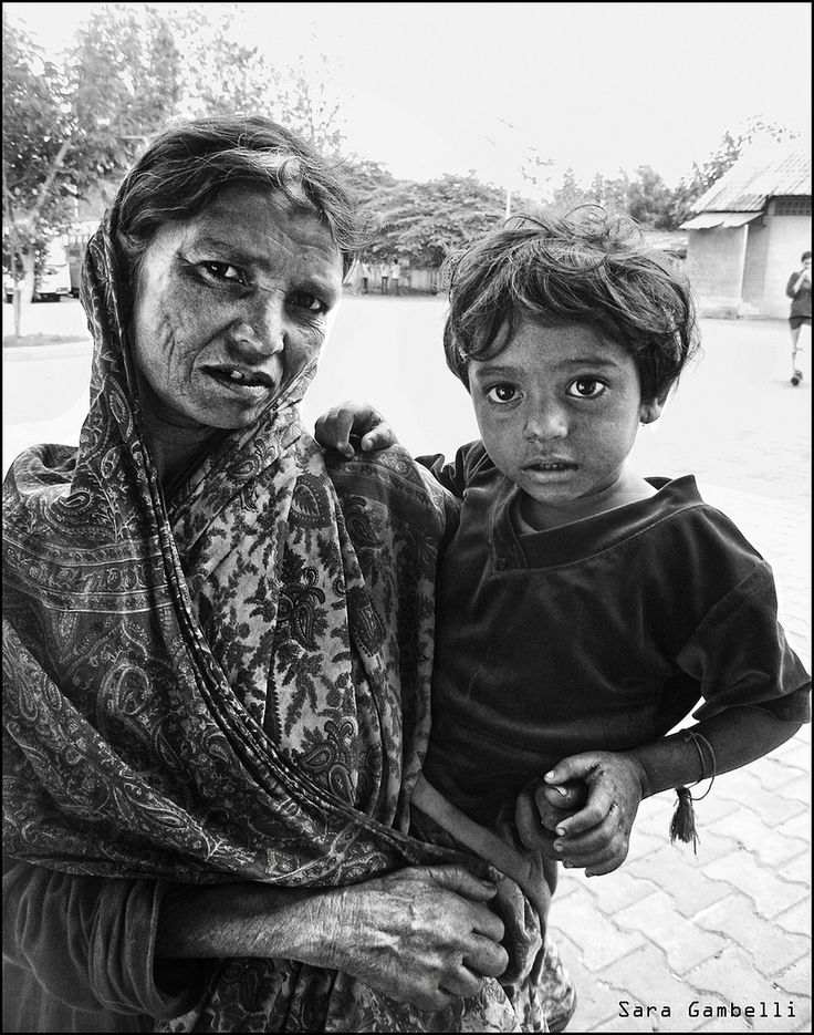 https://flic.kr/p/kjjob1 | Indian Mother and child