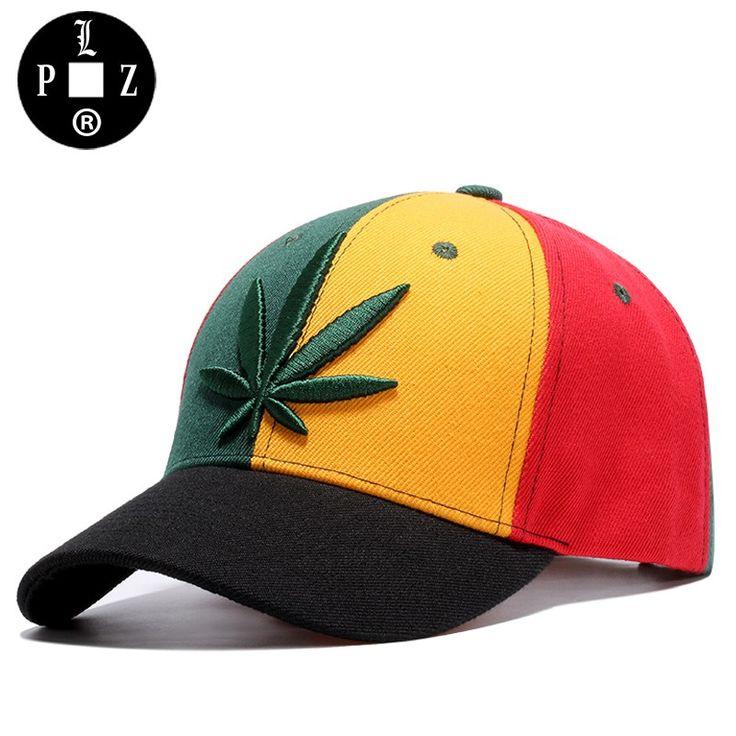Fashion Weed Leaf Jamaica Flag Baseball Cap //Price: $23.05 & FREE Shipping //     #cannabisjewelry