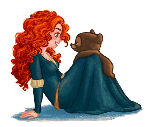 Day 2 Favorite Princess: Merida is my most Favorite but I do have close seconds:)