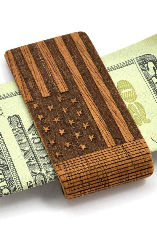 American Flag Money Clip   Patriotic Gifts   handmade American gifts   gifts for military   army navy marine gift ideas