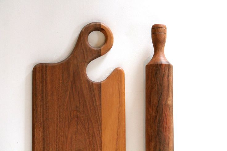 Cheese Board||Chopping Board & Rolling Pin Set, Australian Spotted Gum Hardwood by tablemannerboards on Etsy https://www.etsy.com/listing/230546239/cheese-boardchopping-board-rolling-pin