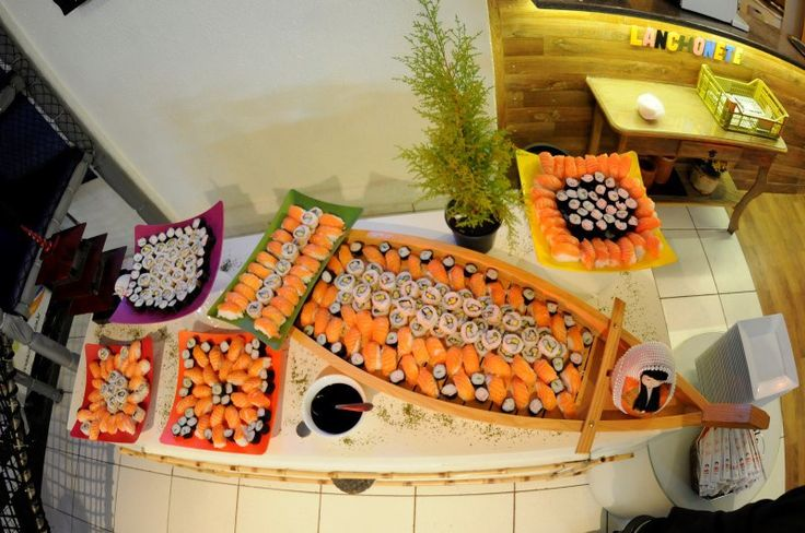 Comida Japonesa Festa de 15 anos