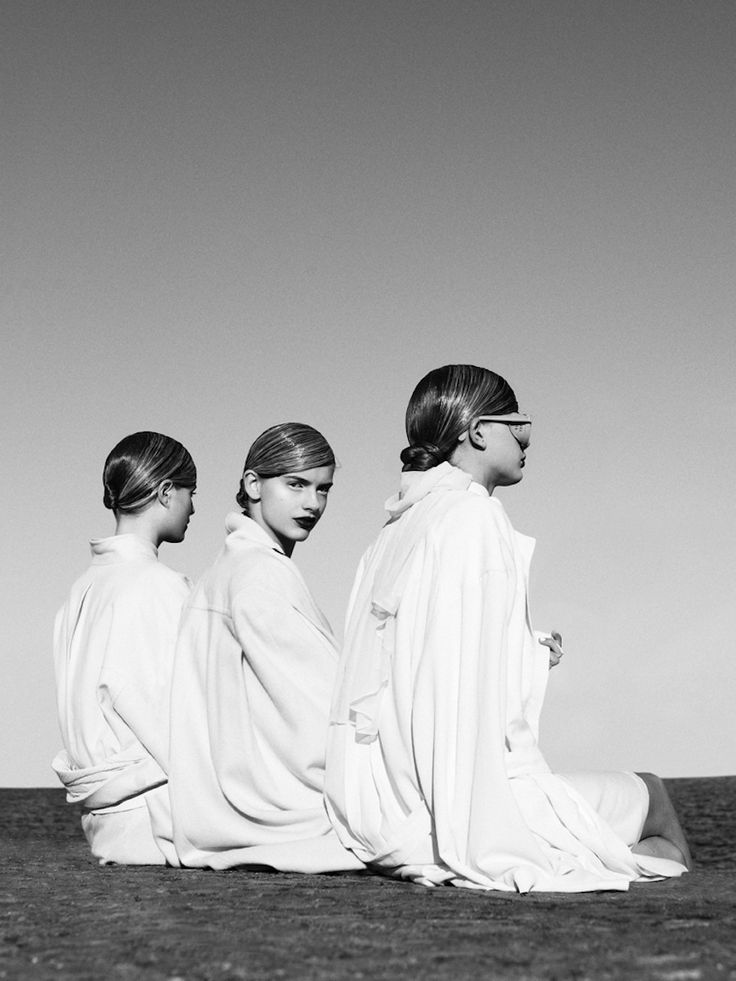 ...    Clara Nergardh, Viktoria Persson and Iris photographed by Ceen Wahren for Pulp #72013