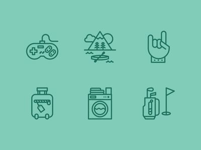Dribbble - Radio Icons by Vic Bell