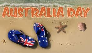 Happy Australia Day! -- Australia Day is the official national day of Australia which is celebrated annually on 26 January