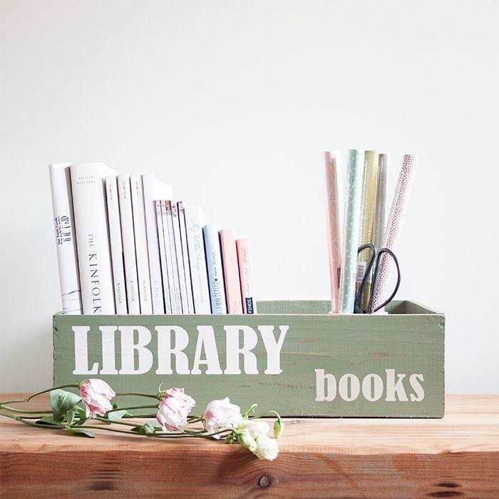 caja madera books