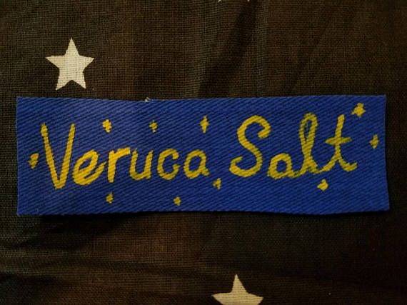 VERUCA SALT Band 90s Punk Patch