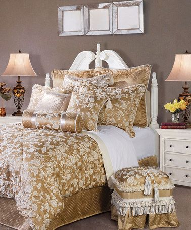 Love This Off White Heirloom Comforter Set By ACG Green Group On Zulily