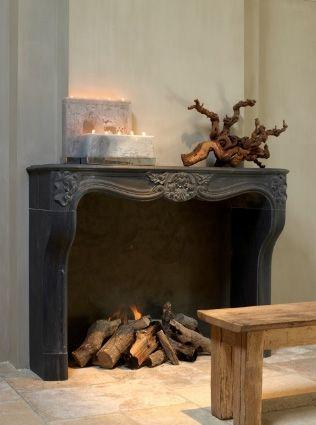 Renaissance London Antique Fireplace #renaissancelondon