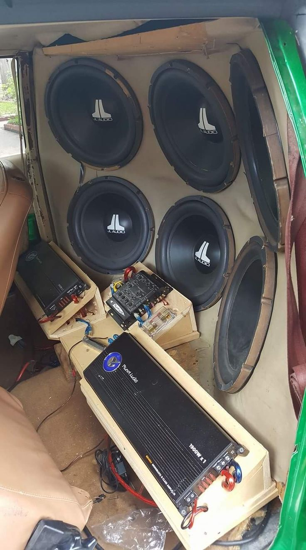 Audio sound audio system car interiors car audio knock knock car stuff frankenstein speakers bass