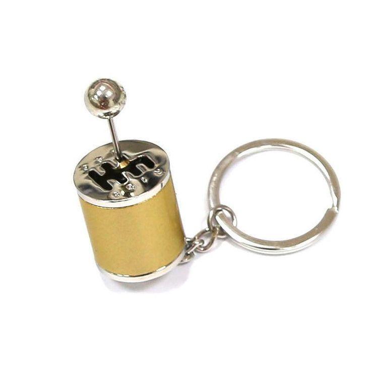 Fidget Gear Shift Key Chain