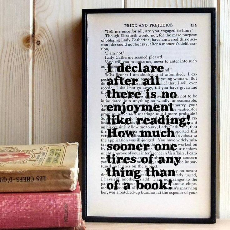 Wedding Photo Book Quotes: Pride And Prejudice Quote Wall Art Wedding Gift