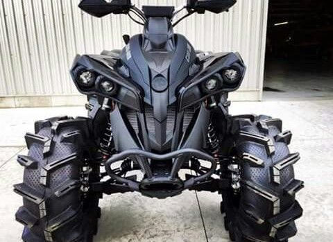 Can am renegade triple black edition