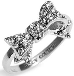 : Bling, Style, Juicy Couture, Jewelry, Bows, Bow Rings, Engagement Ring, Juicycouture