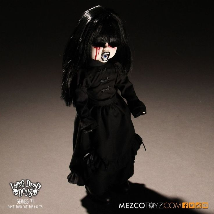 Living Dead Dolls - Serie 31 - The Dark  Don´t Turn Out The Lights  - Mezco