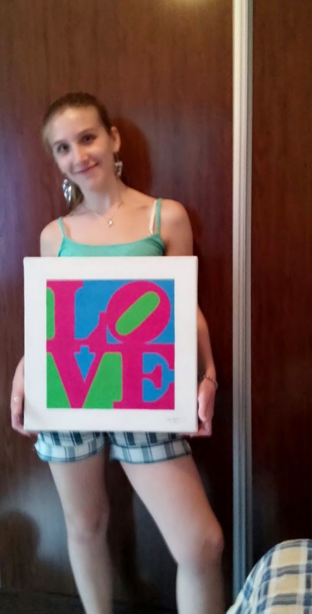 Lau chocha con su #ChiiCuadro Love!