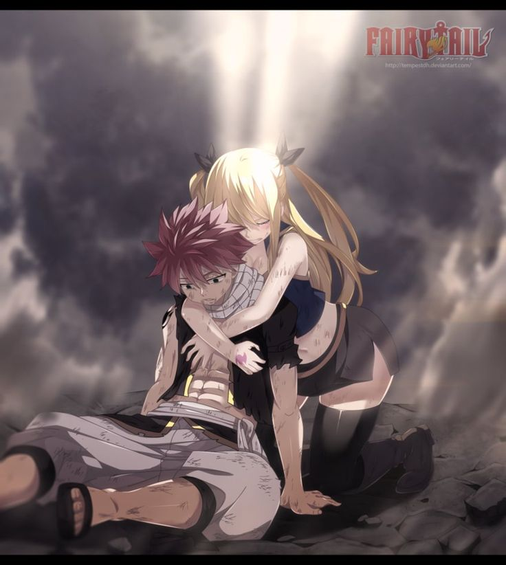Fairy Tail 507: Natsu and Lucy by TempestDH.deviantart.com on @DeviantArt