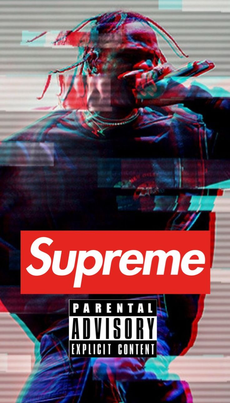 supreme travisScott wallpaper in 2020 Supreme