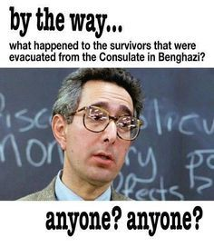 yes, where are the Benghazi survivors???  America demands to know the truth about Benghazi!!