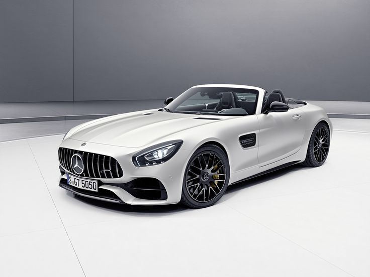 New AMG GT C Roadster Edition 50 from Mercedes-AMG