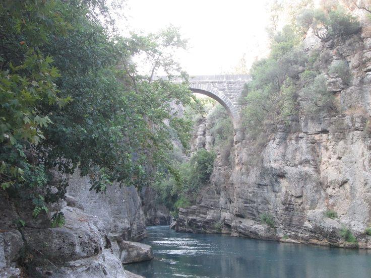 Köprülü, kaňon, Turecko
