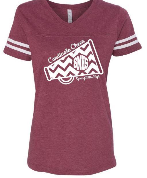 Cheerleading Shirts ~ Cheer Mom ~ Cheer Squard ~ High School Cheer ~ Football Cheerleader ~ MegaPhone Monogram by CutFromTheHeart on Etsy https://www.etsy.com/listing/452159708/cheerleading-shirts-cheer-mom-cheer