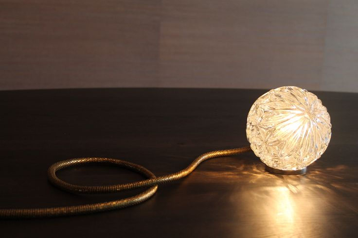 Wall & Table Lighting - Glass & Brass - Limited Edition