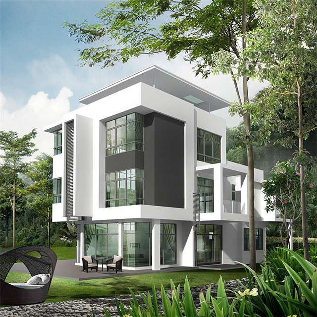 Top Modern Bungalow Design: 17 Best Images About Malaysia Modern Villas On Pinterest