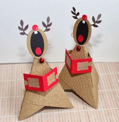 die besten 25 elche ideen auf pinterest elche basteln weihnachtskarte rentier basteln und. Black Bedroom Furniture Sets. Home Design Ideas
