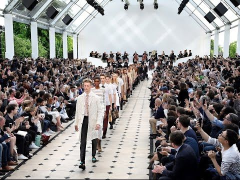 Strait-Laced - The Burberry Menswear Spring/Summer 2016 show - YouTube