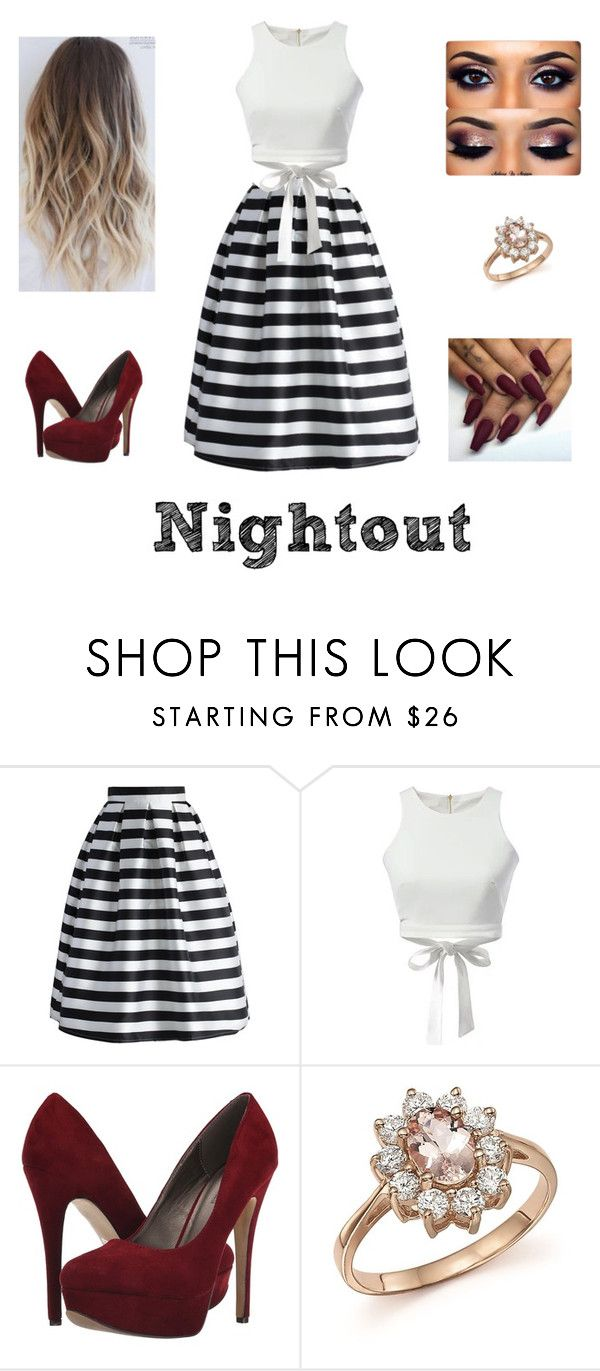 """""""Semi-Formal Outfit"""" by gemma-chedid on Polyvore featuring Chicwish, Michael Antonio, Bloomingdale's and NightOut"""