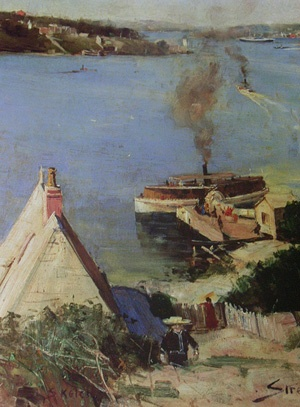 Mosman Bay by Arthur Streeton